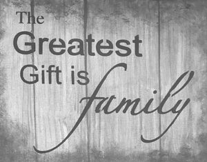 Sandy Laipply Greatest gift is family